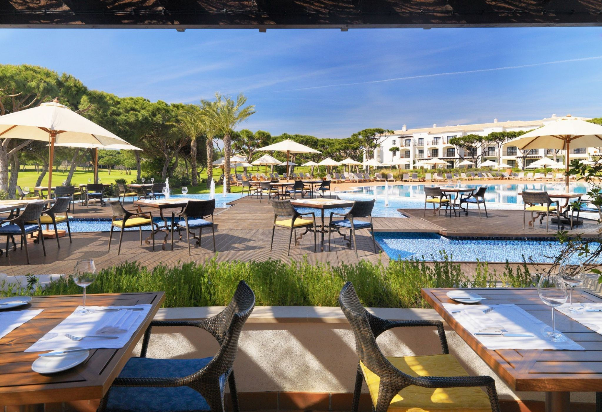 Pine Cliffs Restaurantes e Bars em Albufeira, Algarve